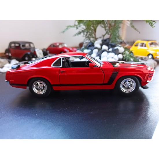 Automobile machete - FORD MUSTANG BOSS 308 1970
